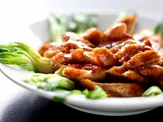 Lip smacking chilli chicken with lemongrass