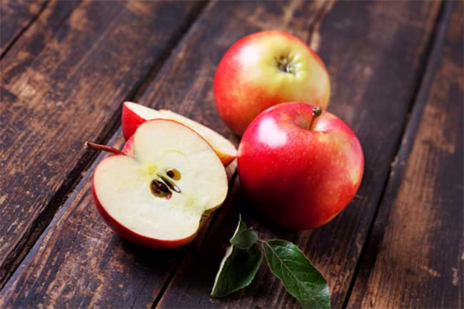 Apple for optic neuritis