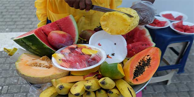 summer fruit in hindi