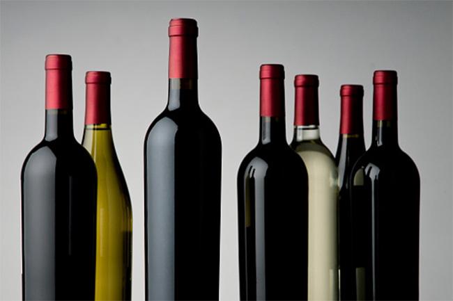 वाइन की बोतल