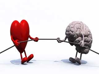 दिल और दिमाग के बीच तालमेल न होने के कारणों का चला पता