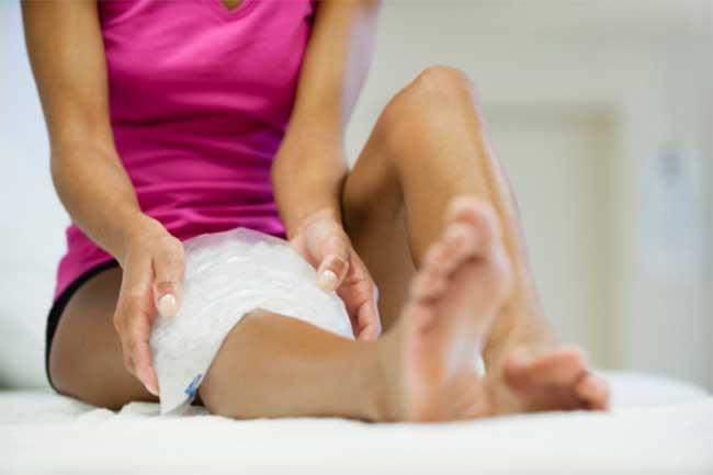 Cold compress as bone spurs treatment