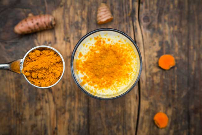 Turmeric as bone spurs treatment
