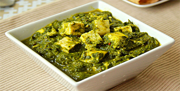 palak paneer in hindi
