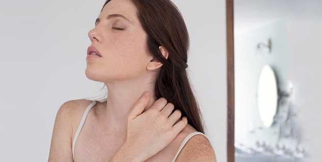 गर्दन में दर्द