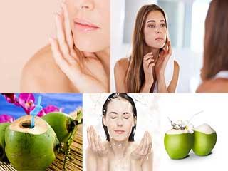 नारियल पानी से चेहरा धोने पर होते हैं ये फायदे