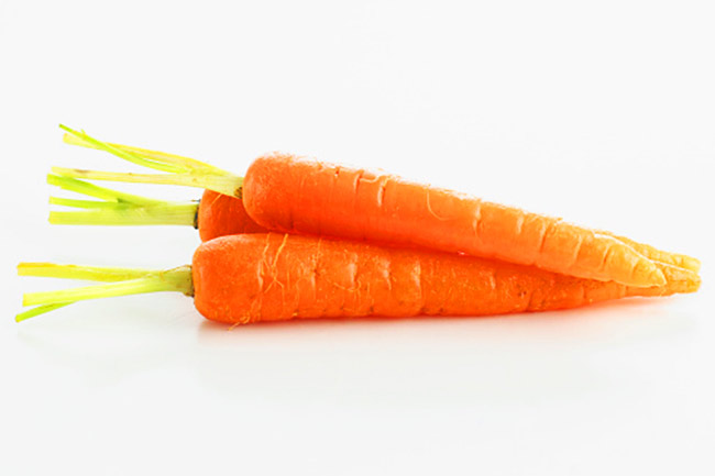 Carrots as a cleansing diet