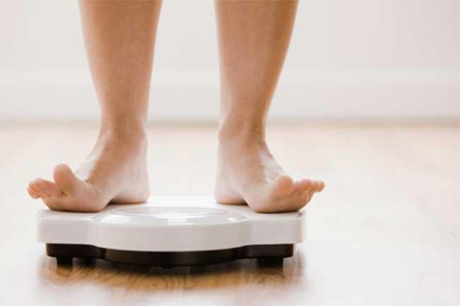 वजन घटाने में मदद