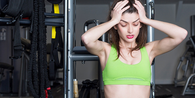 breast pain after gym