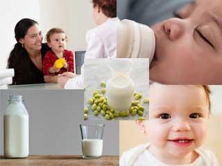 जानें शिशु के लिए कितना फायदेमंद है सोया मिल्क
