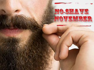 Are you up for No-Shave November?Let your beard spread awareness