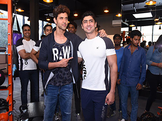 Hrithik Roshan shares his fitness tips at the launch of personal trainer's gym