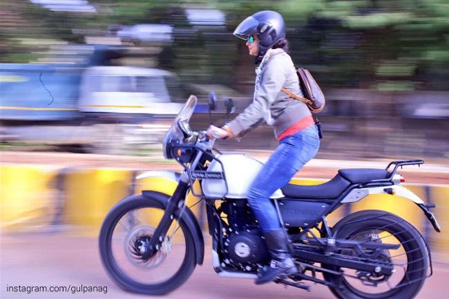 A true biker spirit