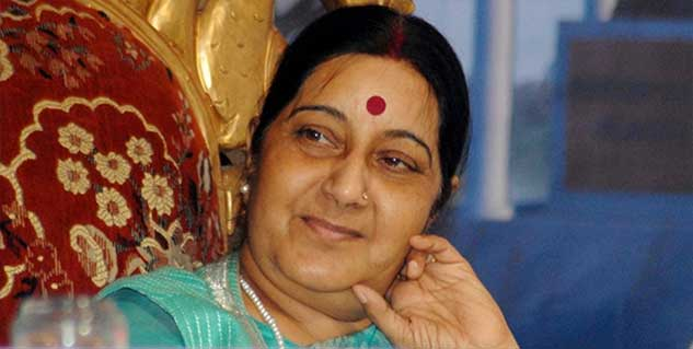 sushma swaraj in hindi