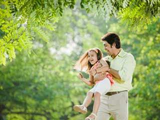Men's testosterone level dip with fatherhood