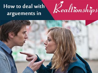 How to deal with arguments in relationships