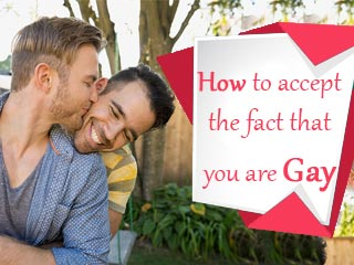 How to accept the fact that you are gay