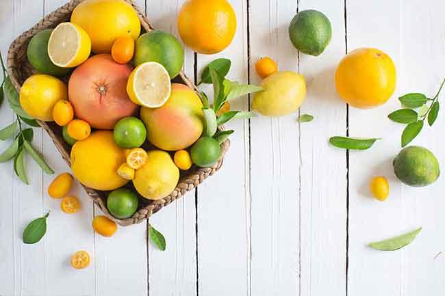 नींबू एवं संतरा यानी विटामिन सी