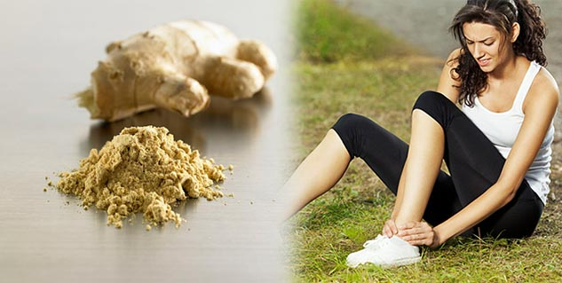 ginger for pain in hindi