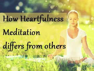 How Heartfulness Meditation differs from others