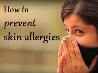 How to prevent skin allergies
