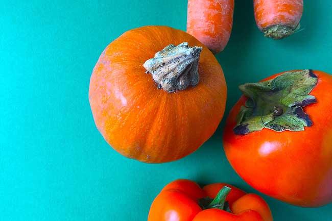 सीताफल और गाजर