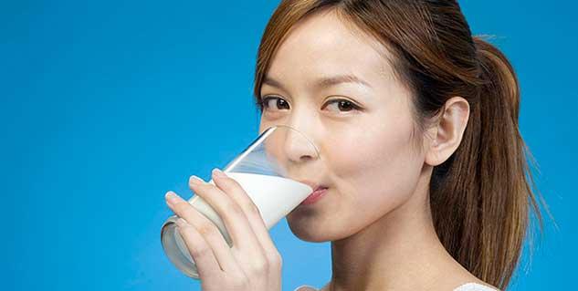 milk in hindi