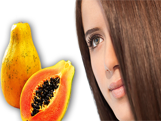 Homemade papaya hair mask for beautiful and healthy hair