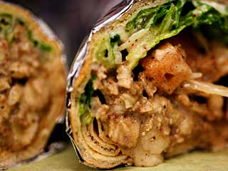 Delicious chicken wrap treat this weekend