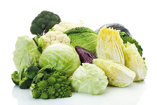 क्रुसीफेरस सब्जियां