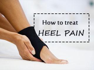 How to treat heel pain