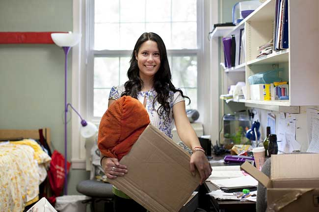 Start organizing not just one step but also one room at a time