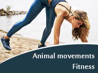 Animal Movements Fitness - Bear Walk