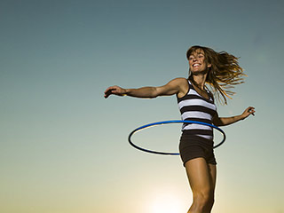 Hula hoop your way to fitness in these 5 easy ways