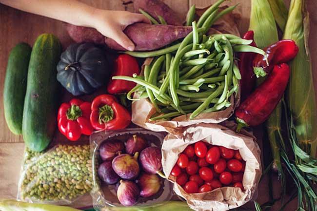 फल और सब्जियों का सेवन