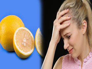सिर दर्द को चुटकियों में दूर करता है सिर्फ '1 नींबू'
