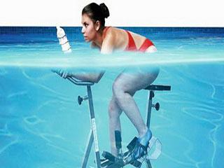 अंडर वाटर स्पिनिंग मतलब फिट और कूल रहने का बेहतर उपाय