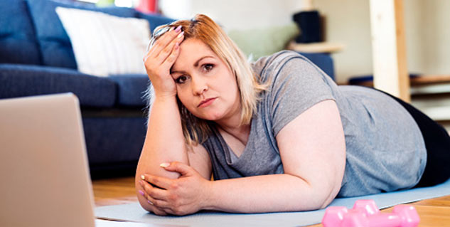 Know how stress causes fat deposition around your belly