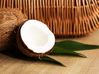 A coconut a day can keep the doctor away