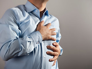 Can weight loss cause chest pain?