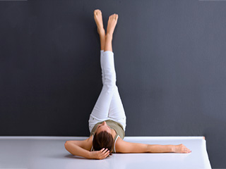 Yoga poses for heartburn relief