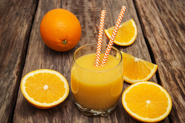 Give orange juice a break