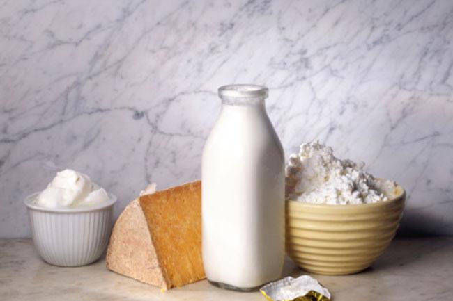 You're lactose intolerant