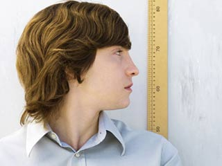 Average height of men has increased by four inches over the century