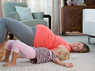 Hip Extension Exercise for Pregnant Women