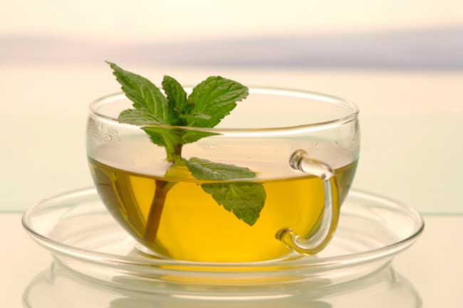 पुदीने की चाय