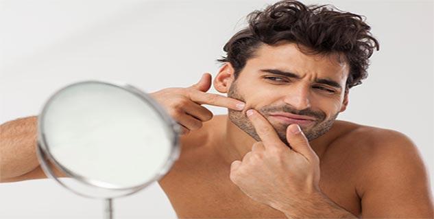 Shaving tips for men with acne in Telugu