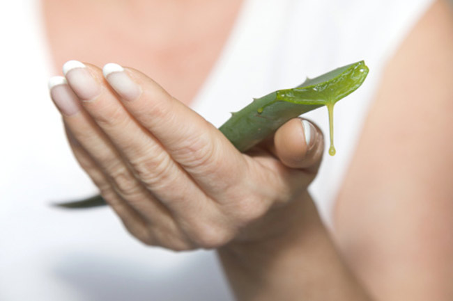 Aloe Vera and just 15 minutes for a beautiful skin
