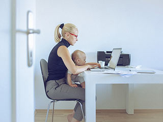 9 Ways to be a calm and composed working mother