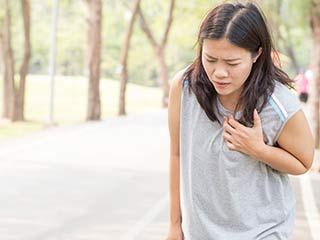 Anxiety and heart attack symptoms in women